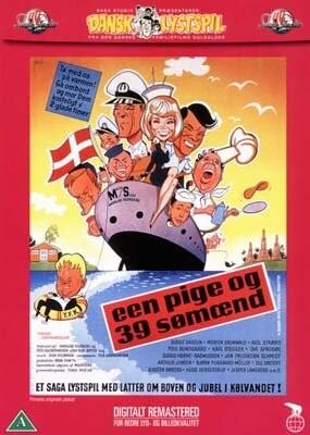 Image of   En Pige Og 39 Sømænd - DVD - Film