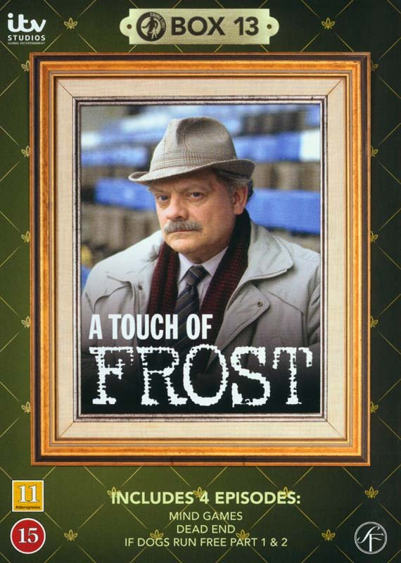 Image of   En Sag For Frost / A Touch Of Frost - Box 13 - DVD - Tv-serie