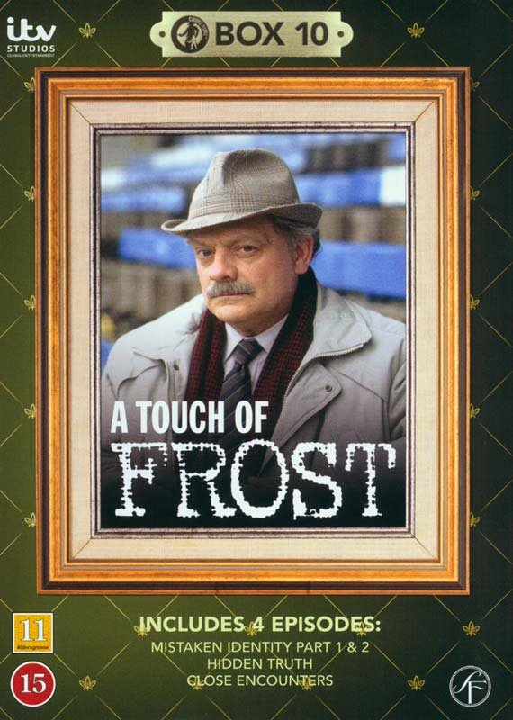 Image of   En Sag For Frost / A Touch Of Frost - Box 10 - DVD - Tv-serie