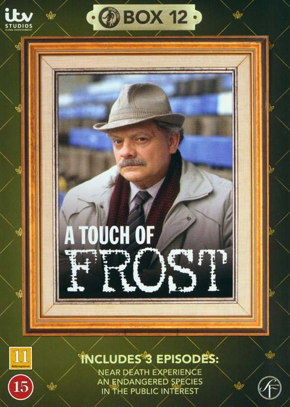 Image of   En Sag For Frost / A Touch Of Frost - Box 12 - DVD - Tv-serie