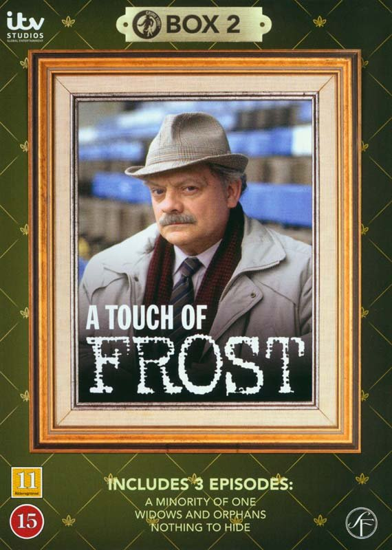 Image of   En Sag For Frost / A Touch Of Frost - Box 2 - DVD - Tv-serie