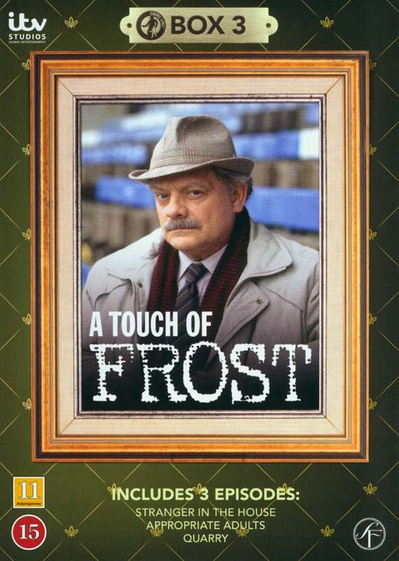 Image of   En Sag For Frost / A Touch Of Frost - Box 3 - DVD - Tv-serie