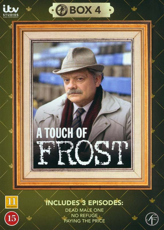 Image of   En Sag For Frost / A Touch Of Frost - Box 4 - DVD - Tv-serie