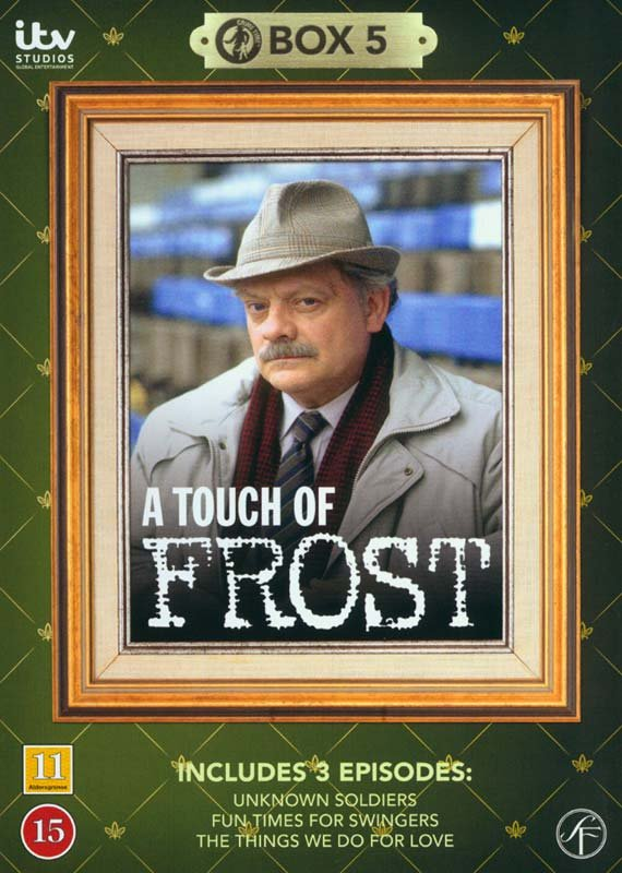 Image of   En Sag For Frost / A Touch Of Frost - Box 5 - DVD - Tv-serie
