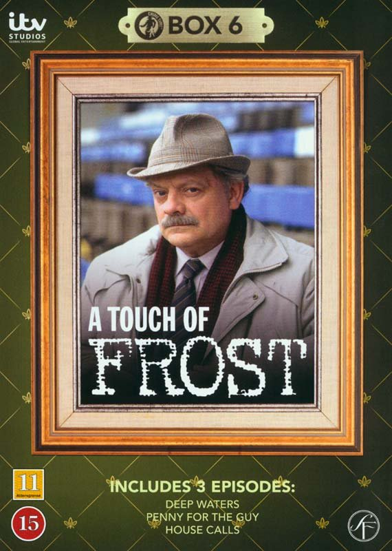 Image of   En Sag For Frost / A Touch Of Frost - Box 6 - DVD - Tv-serie