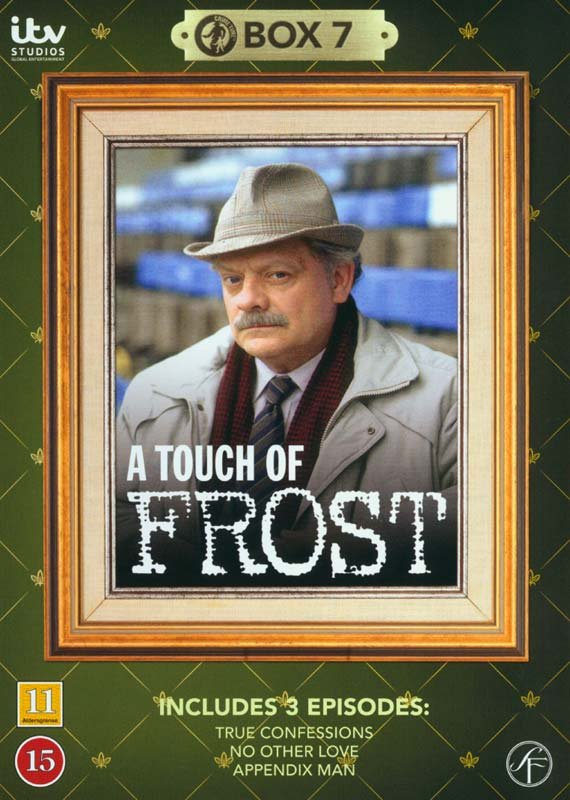 Image of   En Sag For Frost / A Touch Of Frost - Box 7 - DVD - Tv-serie