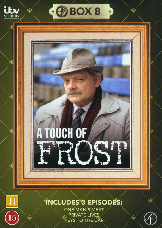 Image of   En Sag For Frost / A Touch Of Frost - Box 8 - DVD - Tv-serie
