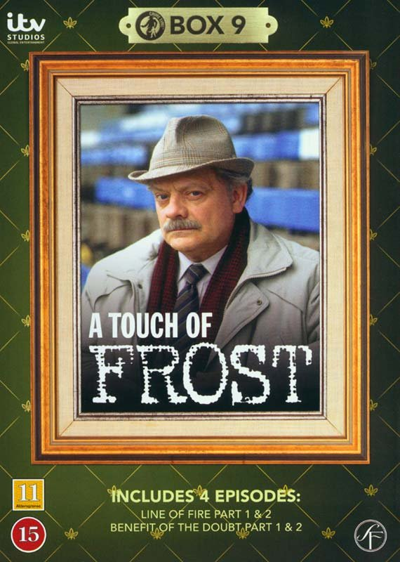 Image of   En Sag For Frost / A Touch Of Frost - Box 9 - DVD - Tv-serie