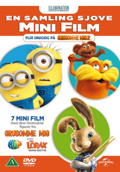 Image of   En Samling Sjove Mini Film - DVD - Film