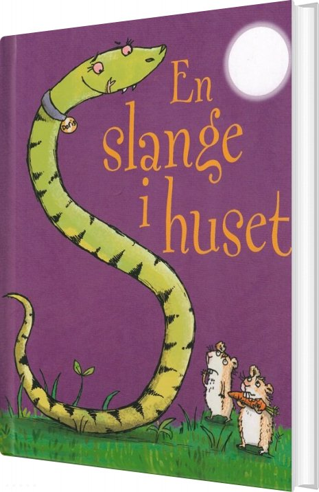 En Slange I Huset - Julia Donaldson - Bog