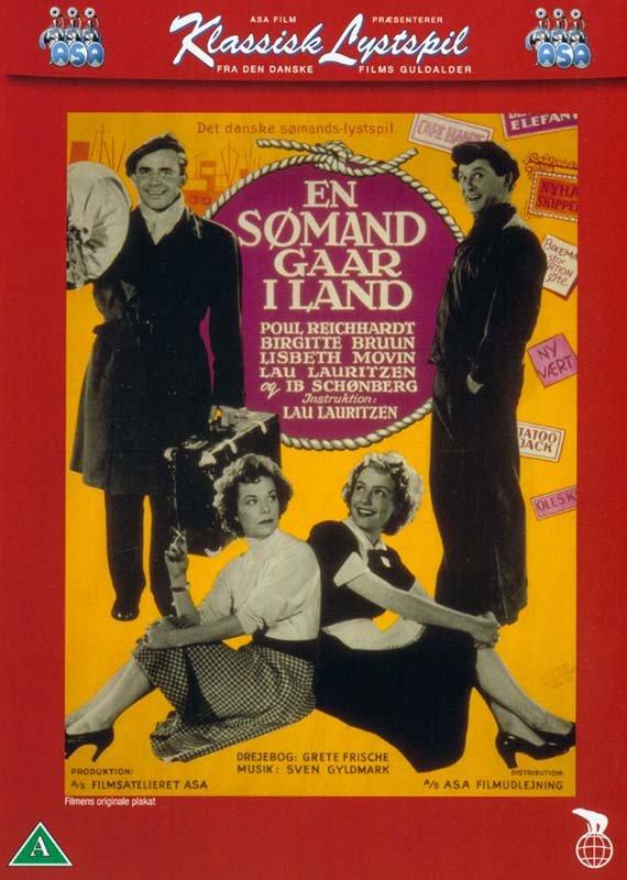 Image of   En Sømand Går I Land - DVD - Film