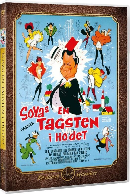Image of   En Tagsten I Hovedet - DVD - Film