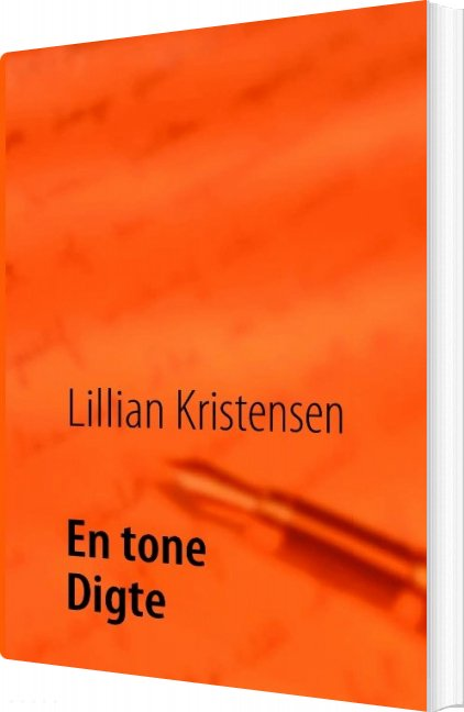 Image of   En Tone - Lillian Kristensen - Bog