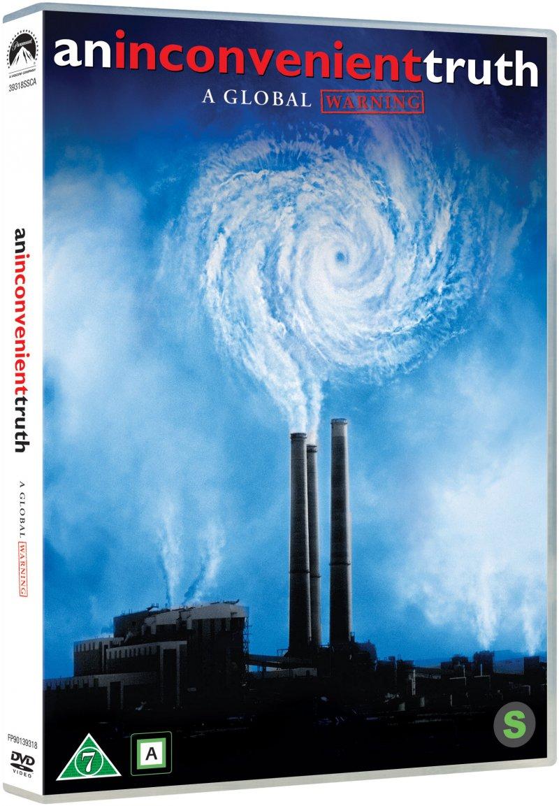 Image of   An Inconvenient Truth / En Ubekvem Sandhed - DVD - Film