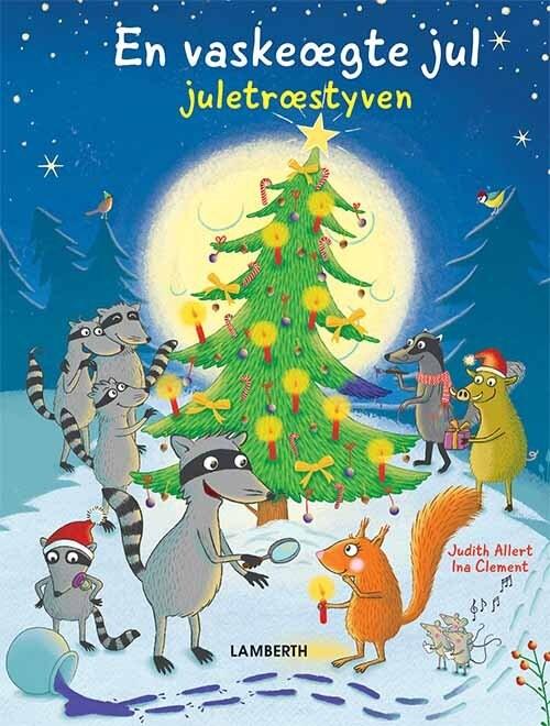 Billede af En Vaskeægte Jul - Juletræstyven - Judith Allert - Bog