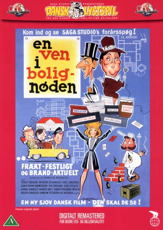 Image of   En Ven I Bolignøden - DVD - Film