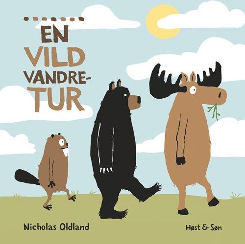 Image of   En Vild Vandretur - Nicholas Oldland - Bog