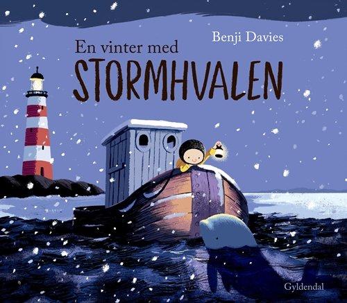 Billede af En Vinter Med Stormhvalen - Benji Davies - Bog