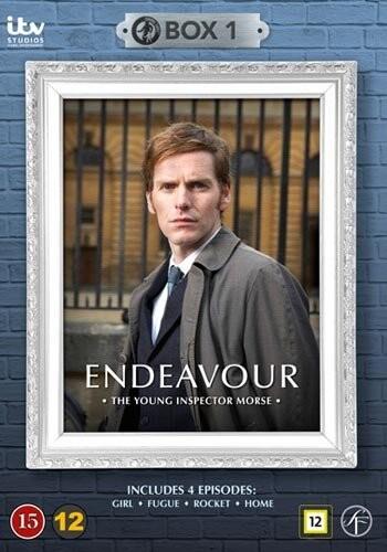 Image of   Endeavour - Den Unge Morse - Boks 1 - DVD - Tv-serie