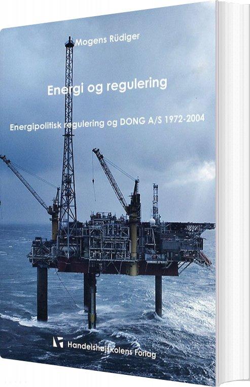 Image of   Energi Og Regulering - Mogens Rüdiger - Bog