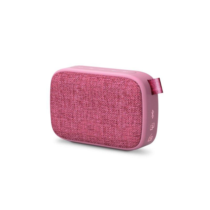 Image of   Energy Sistem - Box 1+ Trådløs Bluetooth Højtaler Og Fm Radio - Pink