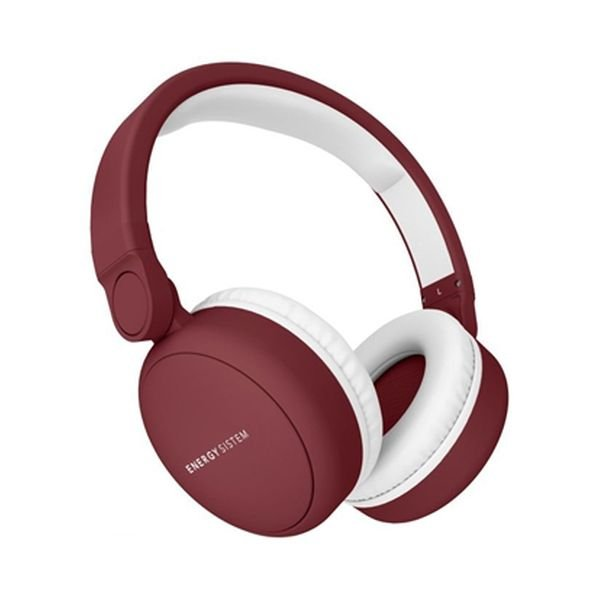 Image of   Energy Sistem Headphones 2 - Bluetooth Høretelefoner Med Mikrofon - Rød