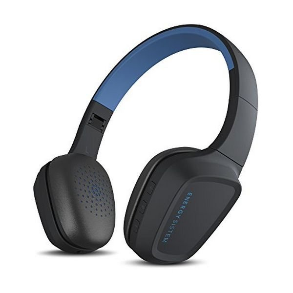 Image of   Energy Sistem Headphones 3 - Bluetooth Høretelefoner Med Mikrofon - Blå