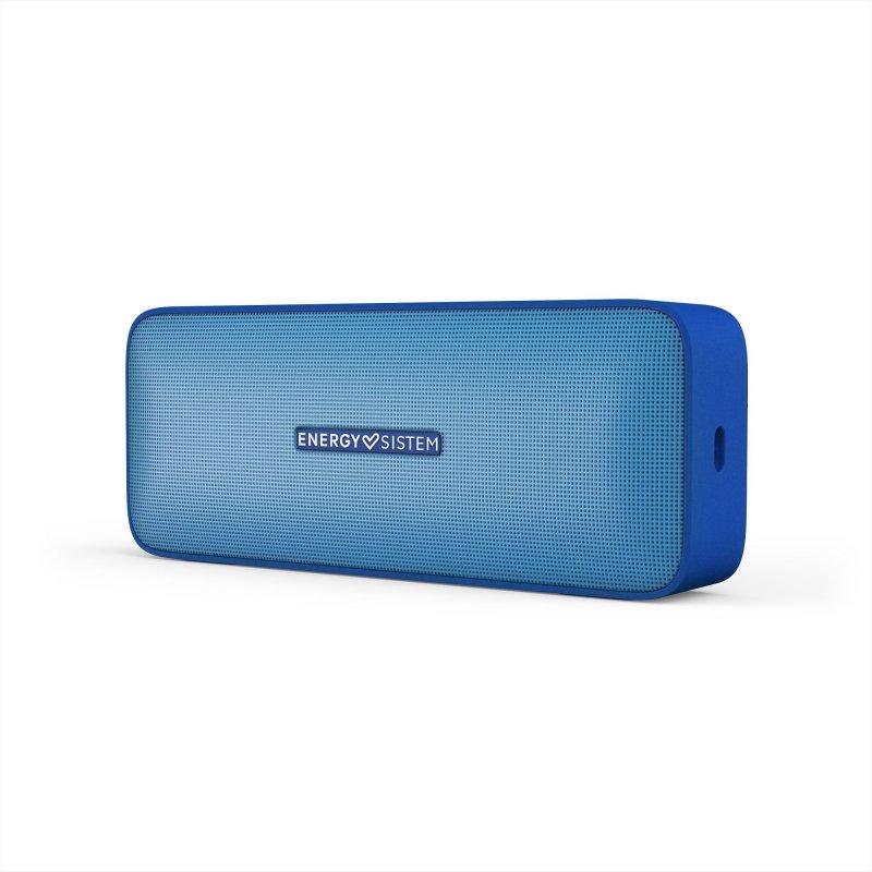 Image of   Energy Sistem Music Box 2 - Trådløs Bluetooth Højtaler Med Mikrofon - Blå