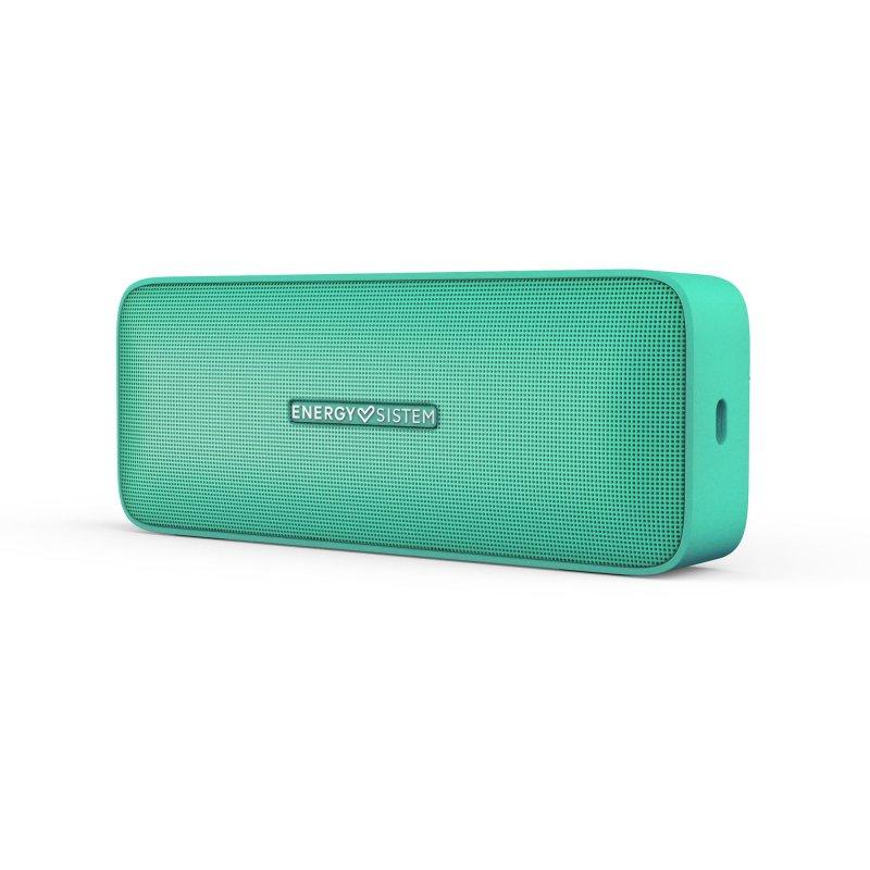 Image of   Energy Sistem Music Box 2+ - Trådløs Bluetooth Højtaler Med Mikrofon - Grøn
