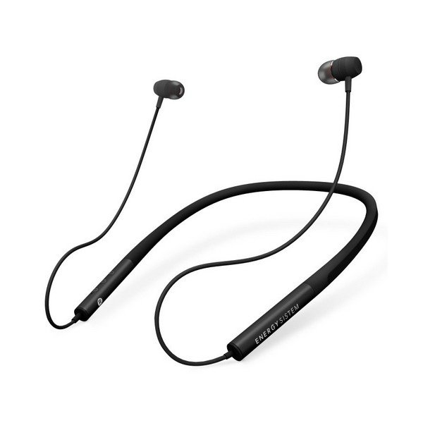 Image of   Energy Sistem Neckband 3 - Bluetooth Sports Høretelefoner Med Mikrofon 100 Mah - Sort