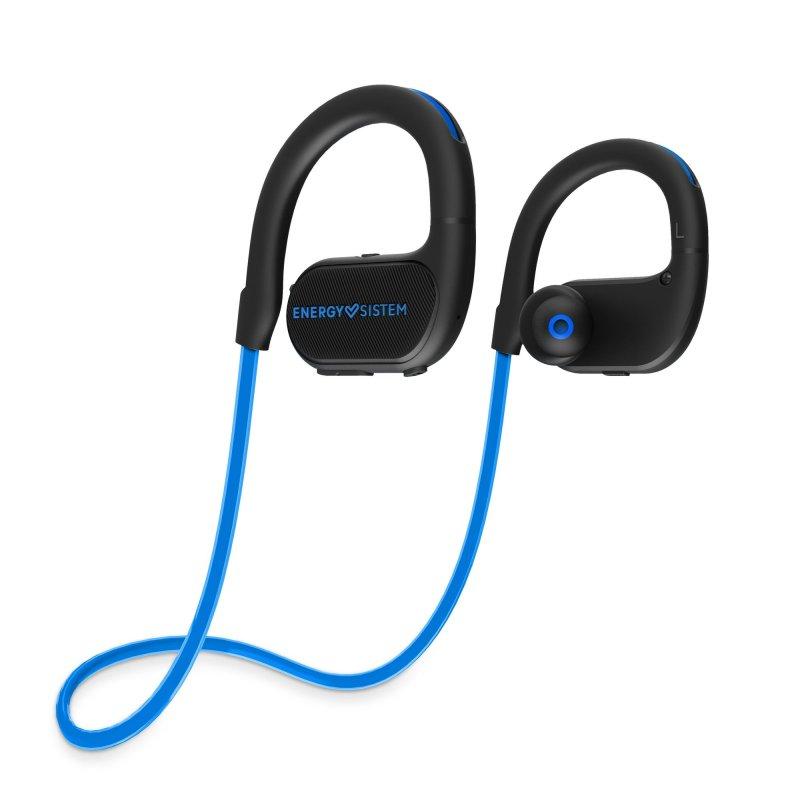 Billede af Energy Sistem - Running 2 - Trådløs Sports Høretelefoner Med Mikrofon - Blå Sort