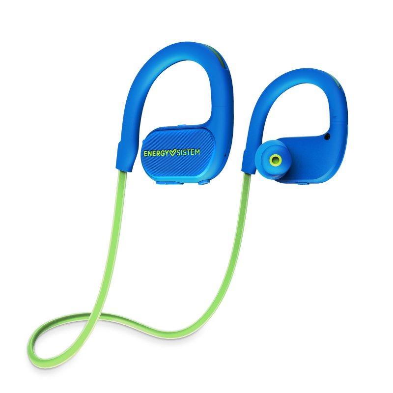 Billede af Energy Sistem - Running 2 - Trådløs Sports Høretelefoner Med Mikrofon - Blå Grøn