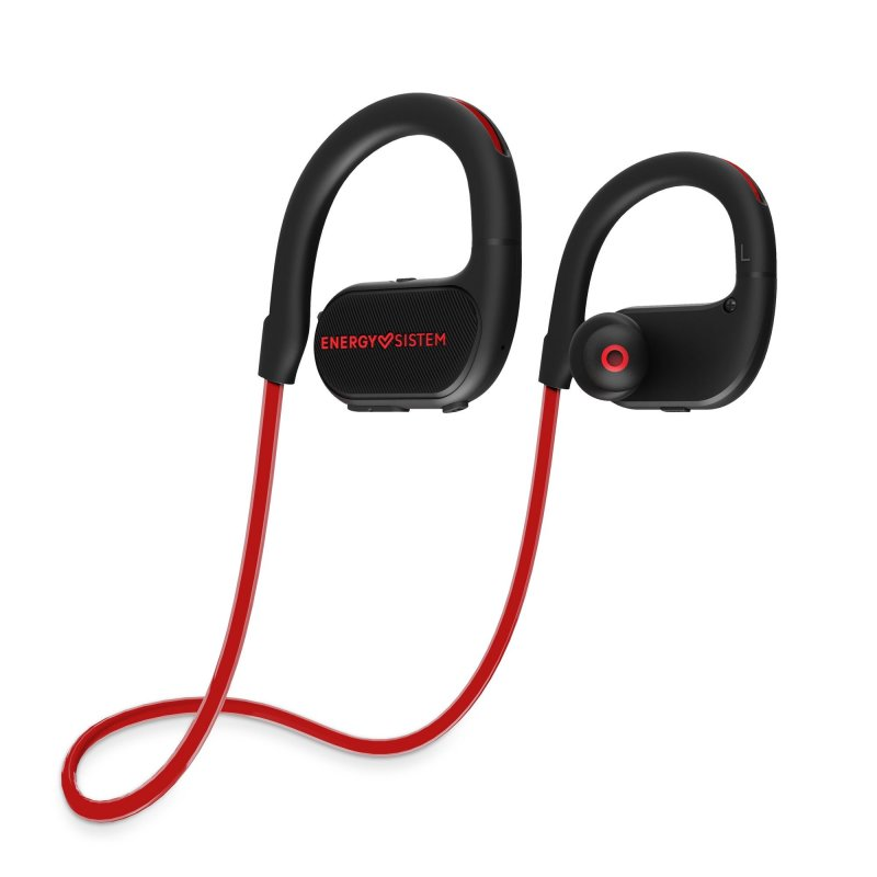 Billede af Energy Sistem - Running 2 - Trådløs Sports Høretelefoner Med Mikrofon - Sort Rød