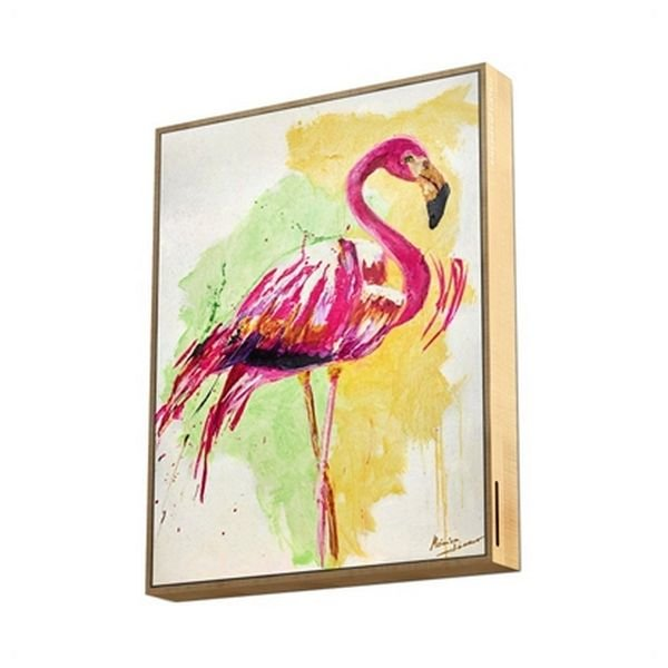 Energy Sistem – Trådløs Bluetooth Højtaler I Ramme – Flamingo