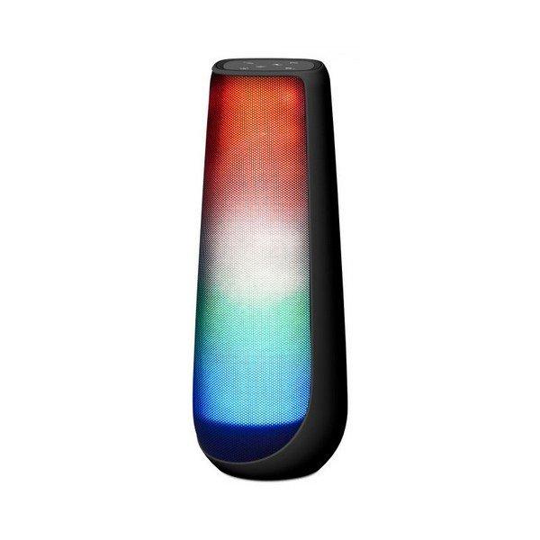 Image of   Energy Sistem - Trådløs Bluetooth Højtaler Med Led Lys Fm-radio Aux - Sort