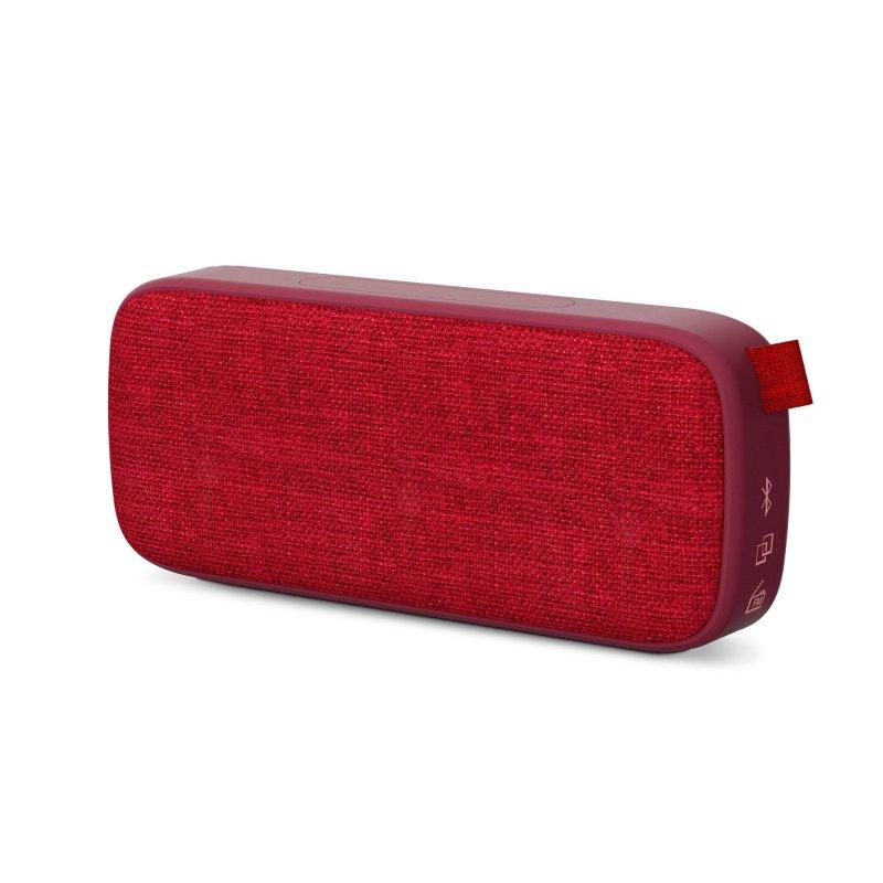 Image of   Energy Sistem - Trådløs Bluetooth Højtaler Og Fm Radio - Box 3+ - Kirsebær Rød