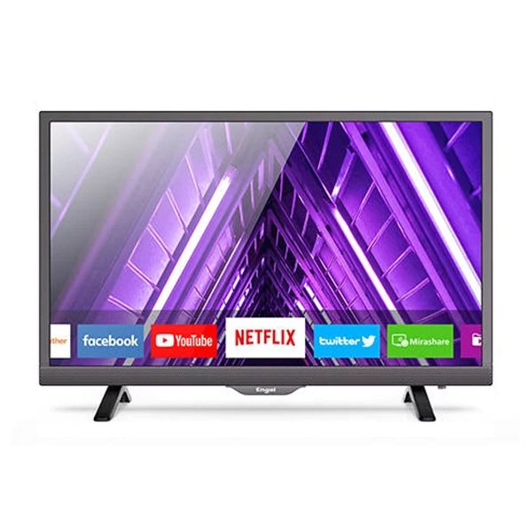 "Image of   Engel 24"" Smart Tv - Hd-ready Wifi Youtube Netflix Usb - Le2481sm - Sort"
