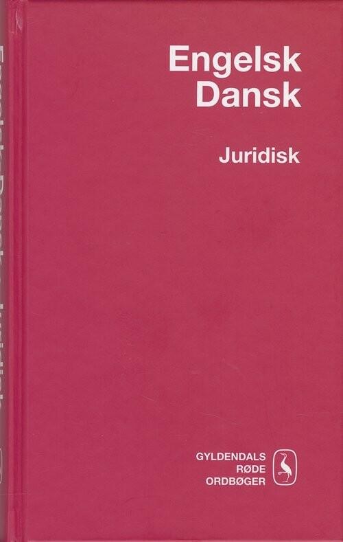 Image of   Engelsk-dansk Juridisk Ordbog - Helle Pals Frandsen - Bog