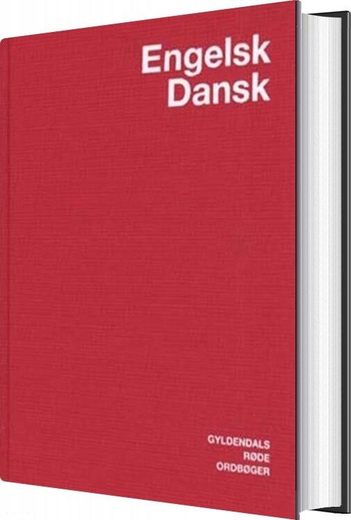 Engelsk-dansk Ordbog - Jens Axelsen - Bog