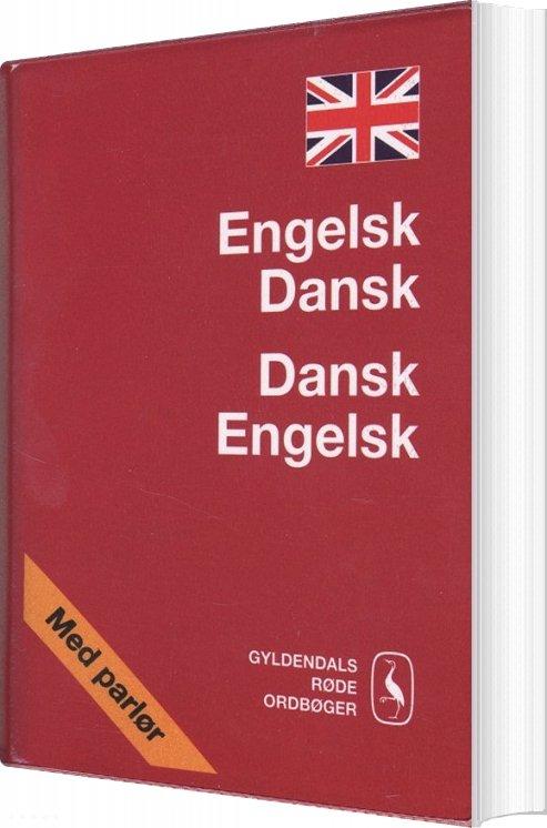 Engelsk-dansk/dansk-engelsk Ordbog - Gyldendal Ordbogsafdeling - Bog