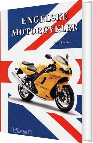 Image of   Engelske Motorcykler - Villy Poulsen - Bog