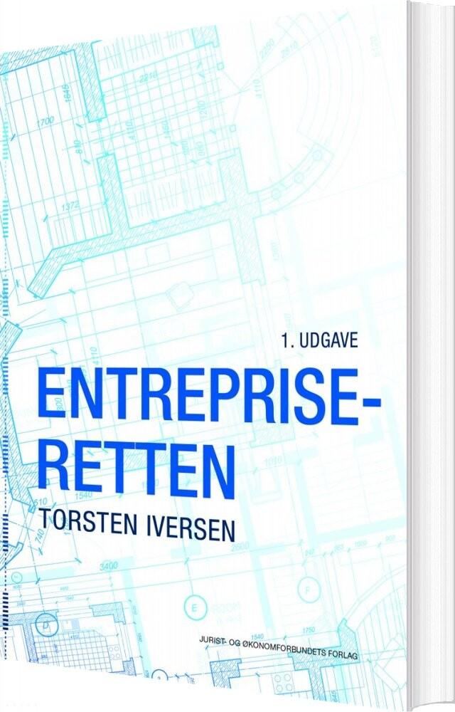 Image of   Entrepriseretten - Torsten Iversen - Bog