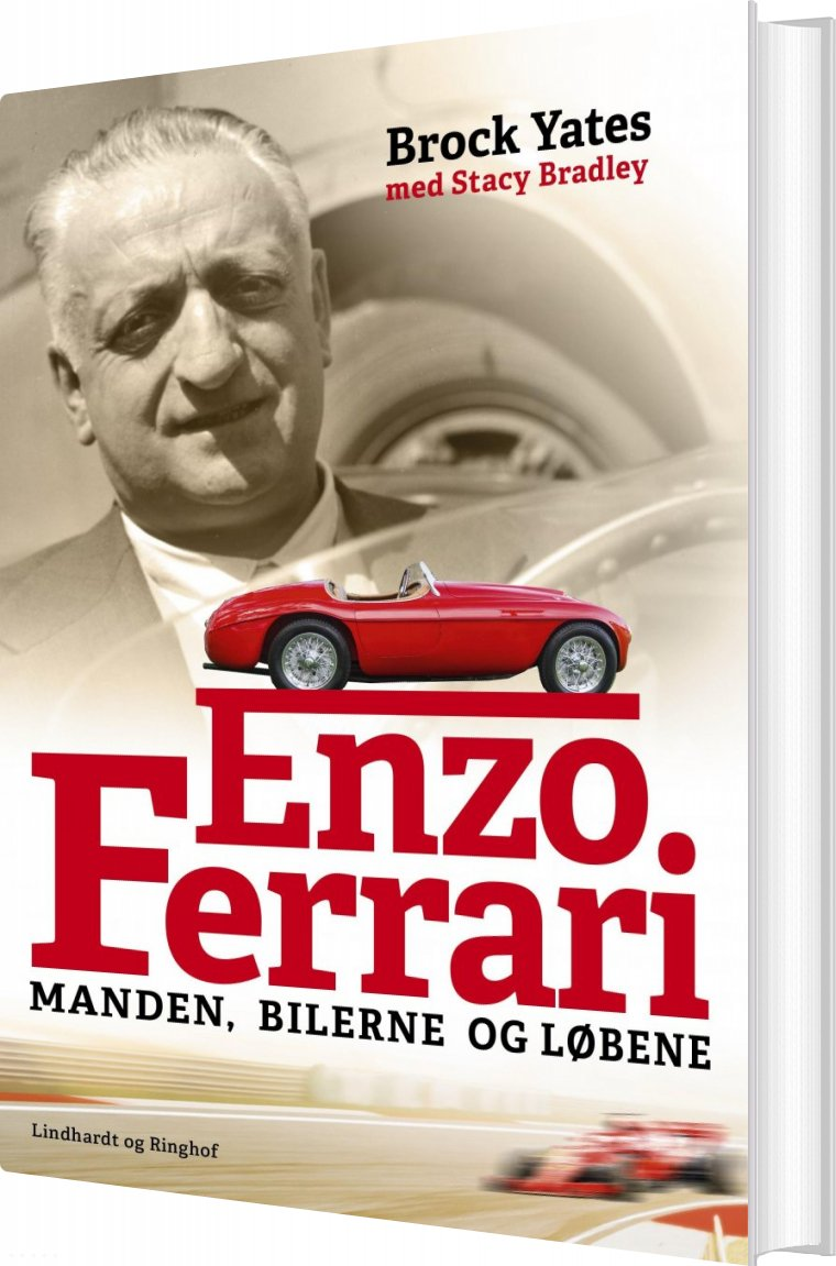 Image of   Enzo Ferrari - Biografi - Brock Yates - Bog