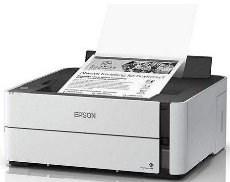 Image of   Epson Ecotank Printer - Duplex Monokrom Usb Blækprinter - 39 Ppm - Et-m1140