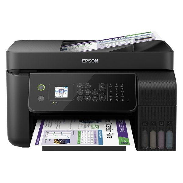 Image of   Epson - Multi Printer, Scanner Og Fax - Ecotank Et-4700 - 10 Ppm Wifi