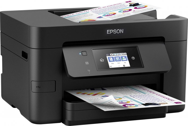 Image of   Epson - Multifunktionsprinter - C11cf74402 - 20ppm Wifi Nfc Farve