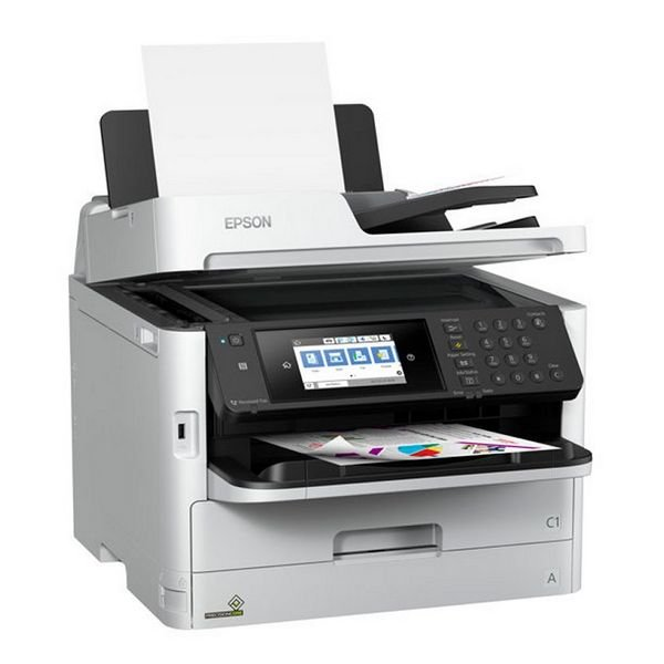 Image of   Epson Pro 4-i-1 Printer, Scanner, Fax Og Kopimaskine - Wf-c5710dwf