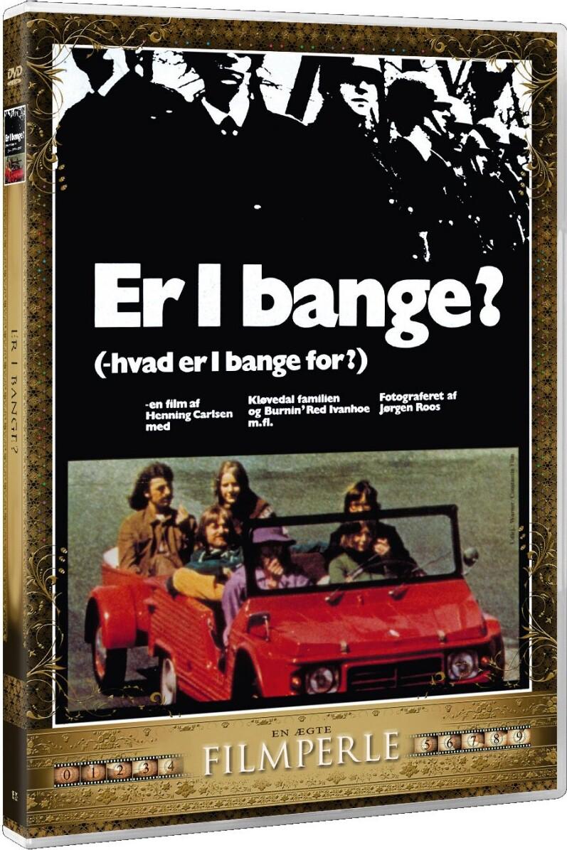 Image of   Er I Bange? - DVD - Film