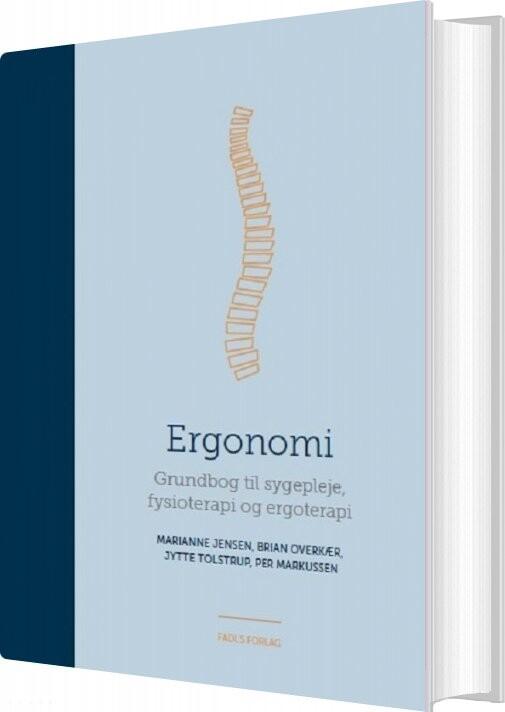 Image of   Ergonomi - Marianne Jensen - Bog