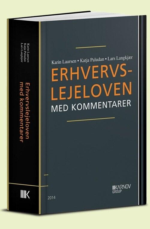 Image of   Erhvervslejeloven Med Kommentarer - Lars Langkjær - Bog